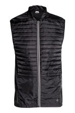 Running gilet - Black - Men | H&M CN 2
