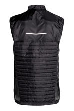 Running gilet - Black - Men | H&M CN 3