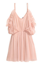 Chiffon dress - Powder pink - Ladies | H&M CN 2