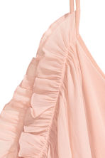 Chiffon dress - Powder pink - Ladies | H&M CN 3