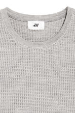 Wool-blend jumper - Light grey - Men | H&M CN 3