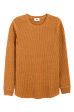 Wool-blend jumper - Camel - Men | H&M CN 2