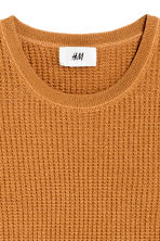 Wool-blend jumper - Camel - Men | H&M CN 3