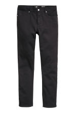 Twill trousers Slim fit - Black - Men | H&M 2
