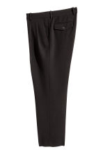 Wide suit trousers - Black - Men | H&M CA 1