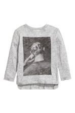 Long-sleeved T-shirt - Grey AC/DC - Kids | H&M CN 2