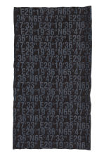 Tube scarf - Black/Text print - Ladies | H&M CN 2