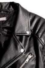 Biker jacket - Black - Men | H&M IE 3