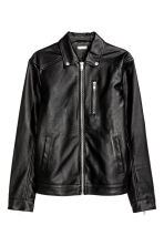 Biker jacket - Black - Men | H&M CN 2