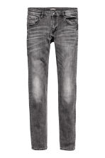 Super Skinny Low Jeans - Grey washed out - Men | H&M CN 2