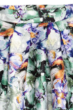 Bell-shaped skirt - White/Floral -  | H&M CN 3