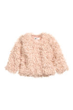 Faux fur jacket - Powder pink - Kids | H&M CN 2