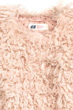 Faux fur jacket - Powder pink - Kids | H&M CN 3