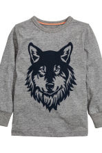 Pyjamas - Dark grey/Wolf - Kids | H&M CN 3