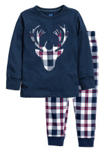 Dark blue/Reindeer