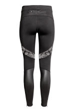 Running tights - Black - Ladies | H&M CA 3