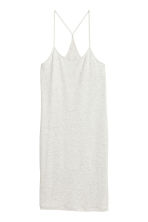 Lyocell dress - Light grey marl - Ladies | H&M CN 2