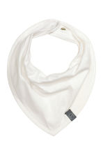 6-pack triangular scarves - White -  | H&M CN 2