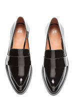 Patent loafers - Black - Ladies | H&M CN 3