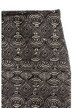 Patterned jersey skirt - Black - Ladies | H&M CN 2