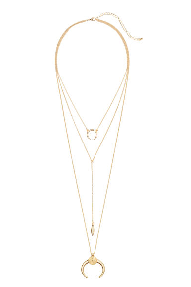 Multistrand necklace - Gold - Ladies | H&M CN 1