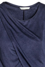 MAMA Nursing dress - Dark blue - Ladies | H&M CN 4