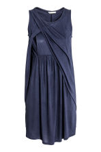 MAMA Nursing dress - Dark blue - Ladies | H&M CN 3