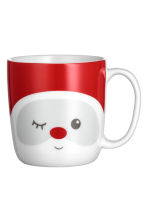 Santa mug - White/Red - Home All | H&M GB 2