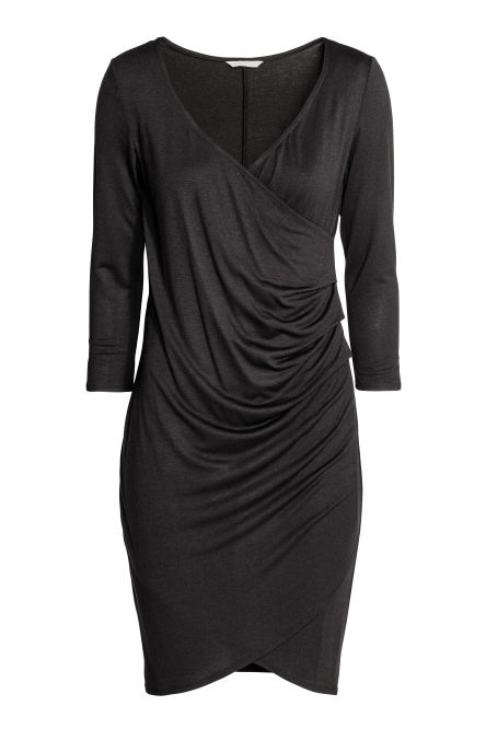 MAMA Draped nursing dress