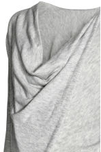 MAMA Wrapover jumper - Light grey marl - Ladies | H&M CN 3