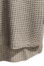 Textured-knit jumper - Mole-grey - Men | H&M 4