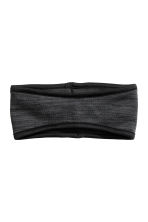 Fleece headband - Black marl - Ladies | H&M CN 1