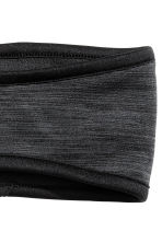 Fleece headband - Black marl - Ladies | H&M CN 2