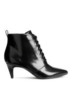 Laced ankle boots - Black - Ladies | H&M CN 1