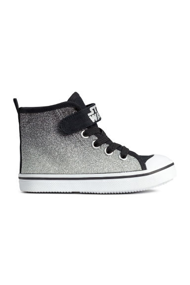 Glittery trainers - Silver/Star Wars - Kids | H&M CN 1