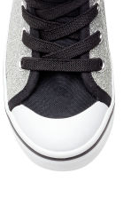 Glittery trainers - Silver/Star Wars - Kids | H&M CN 3