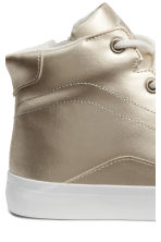 Hi-top trainers - Gold -  | H&M CN 4