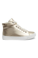 Hi-top trainers - Gold -  | H&M CN 1