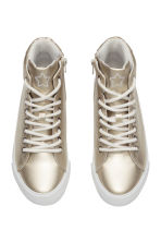 Hi-top trainers - Gold -  | H&M CN 2