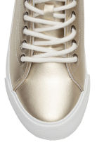 Hi-top trainers - Gold -  | H&M CN 3