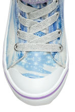 Warm-lined hi-tops - Blue/Frozen - Kids | H&M CN 3