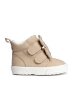 Hi-top trainers - Light beige - Kids | H&M CN 2