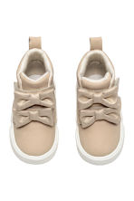 Hi-top trainers - Light beige - Kids | H&M CN 1