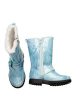 Pile-lined boots - Light Turquoise/Frozen - Kids | H&M CN 2