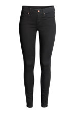 Super Skinny Regular Jeans - Black denim - Ladies | H&M 2