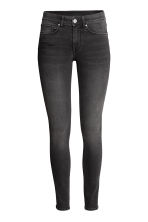 Super Skinny Regular Jeans - Black washed out - Ladies | H&M CN 2