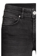 Super Skinny Regular Jeans - Black washed out - Ladies | H&M CN 5