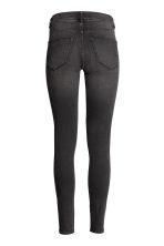Super Skinny Regular Jeans - Negro washed out - MUJER | H&M ES 3