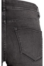 Super Skinny Regular Jeans - Negro washed out - MUJER | H&M ES 4