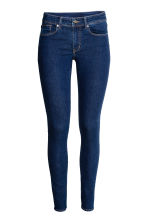 Super Skinny Regular Jeans - 深牛仔蓝 - 女士 | H&M CN 2